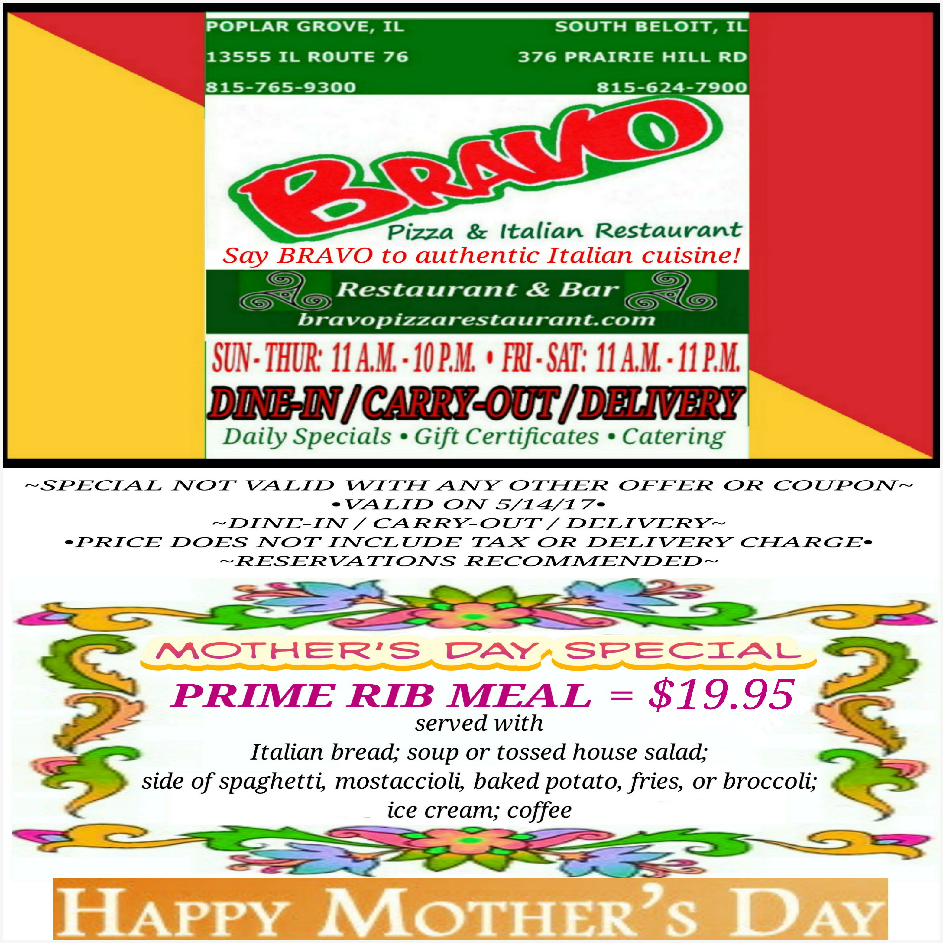 Mother pizza coupons
